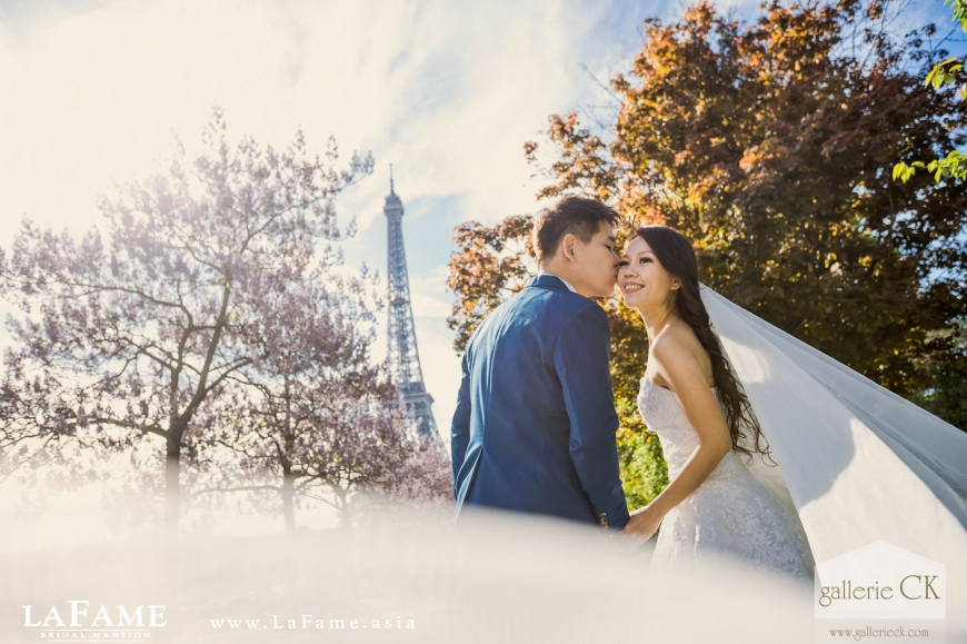 Paris Europe Prewedding Gallerie CK Lafame Paul 002
