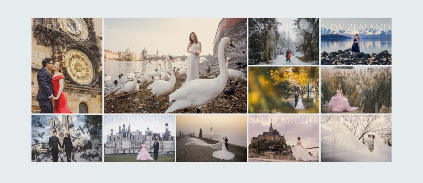oversea paris korea japan prague prewedding new zealand iceland Paul Kong Wedding Malaysia